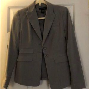 MODA International Gray Suit Jacket